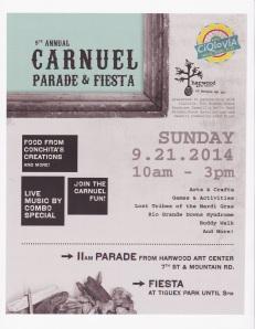 Carnuel Road Parade and Fiesta 2014